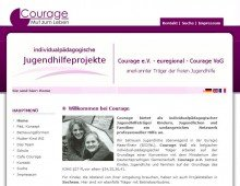 Courage Jugendhilfeprojekte